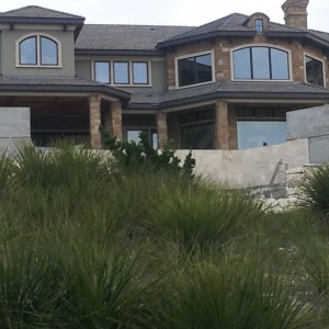 Brick Home by southwest stucco